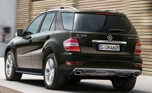 Aakanksha news views new mercedes benz m class suv for Mercedes benz suv india