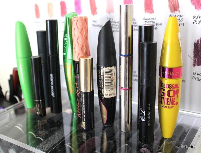 one little vice beauty blog: mascara collection review