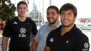 ICBC Pampas XV ya entrena en Auckland