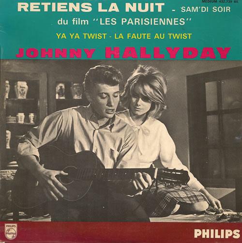 Résultat d'images pour Johnny Hallyday retiens la nuit