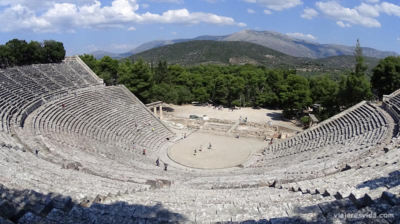 viajaresvida - Teatro de Epidauro