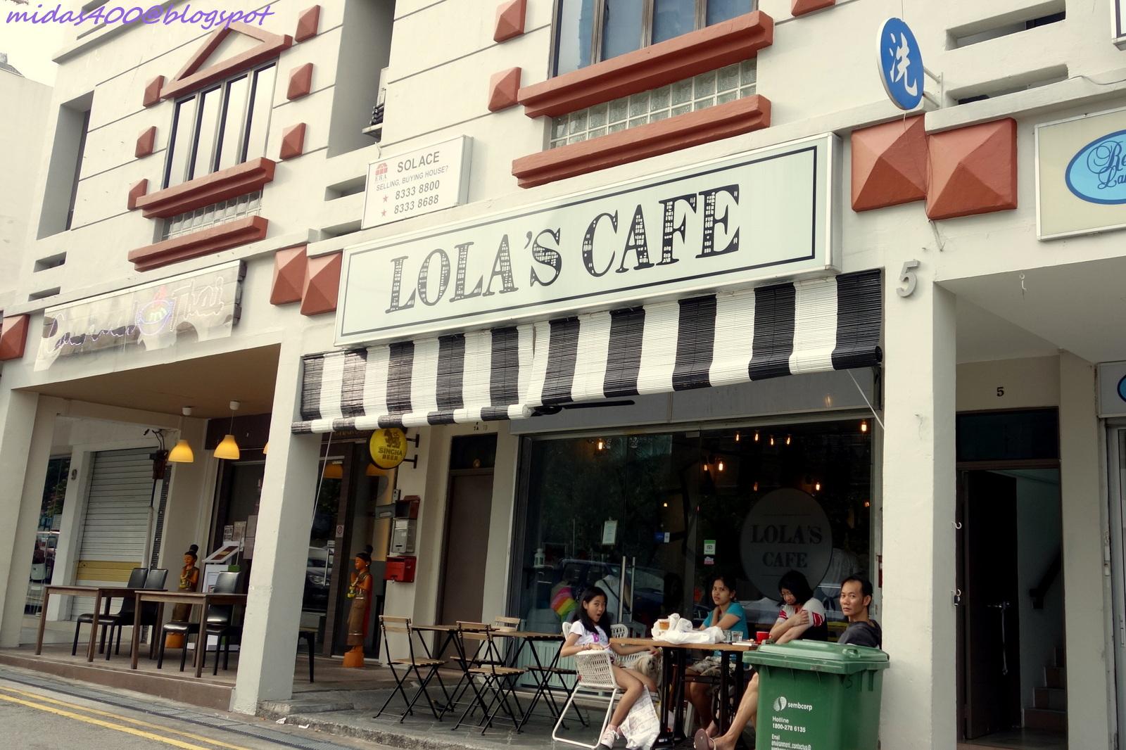 Midas Food n Travel Blog: Dinner at Lola's Cafe