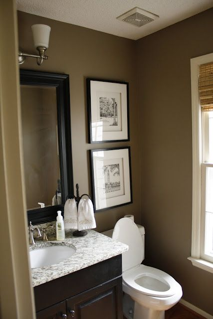 Blog de arquitetura e decora o decora o quadro para for Small 1 2 bathroom decorating ideas