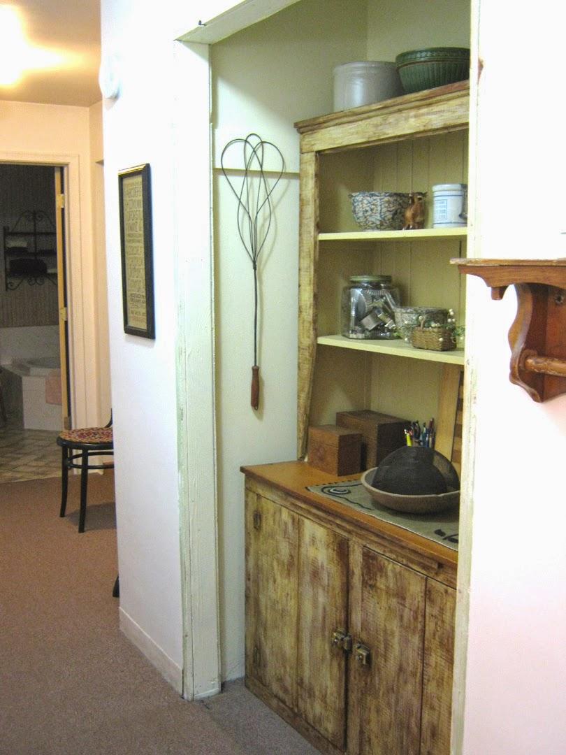 Orange Sink Long Lonesome Hallway