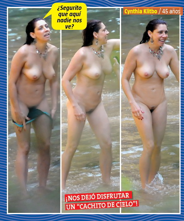 Fotos De Cynthia Klitbo Pletamente Desnuda