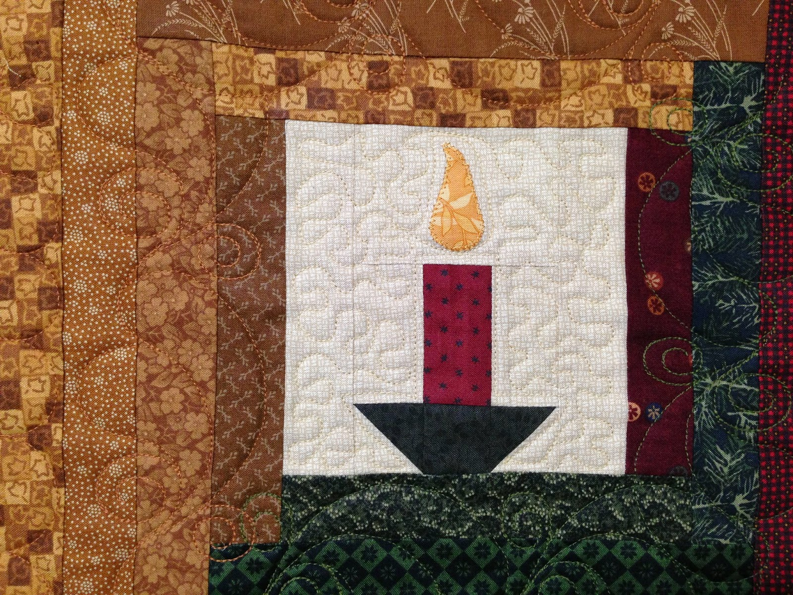 Mei Yi Pflum's Christ is Born Christmas Quilt