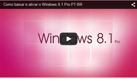Windows 8.1 Pro Pt Br