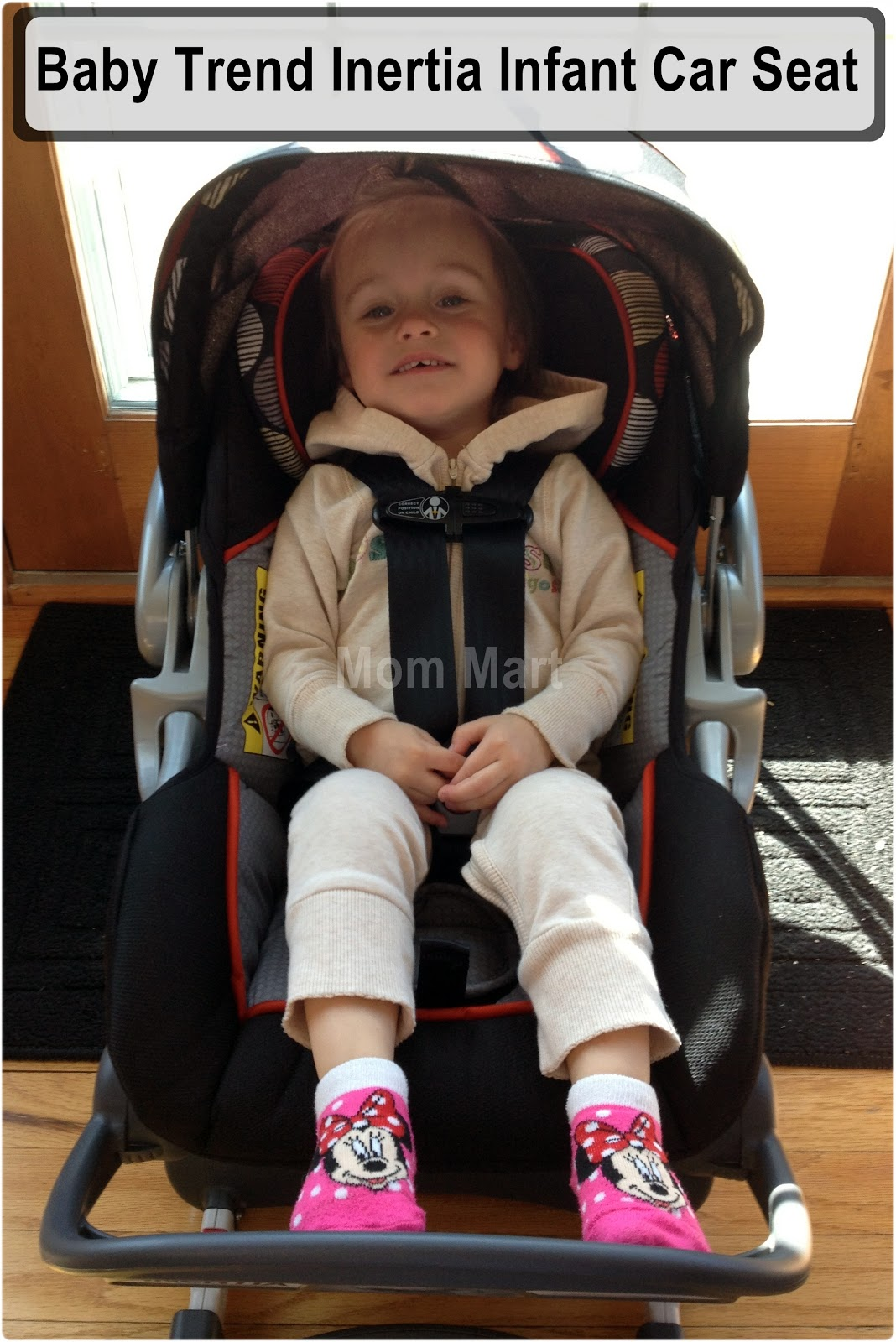 Princess Abby in the Baby Trend Inertia Infant Car Seat Canopy  sc 1 st  Mom Mart - Blogspot & Mom Mart: Baby Trend Inertia Infant Car Seat
