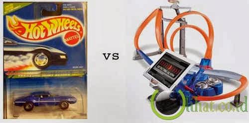 Hot Wheels vs Hot Wheels Power Port