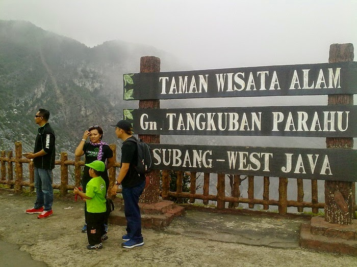 Gunung Tangkuban Parahu - elmuhafoto
