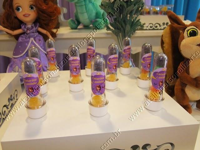 decoracao de festa infantil princesa sofia