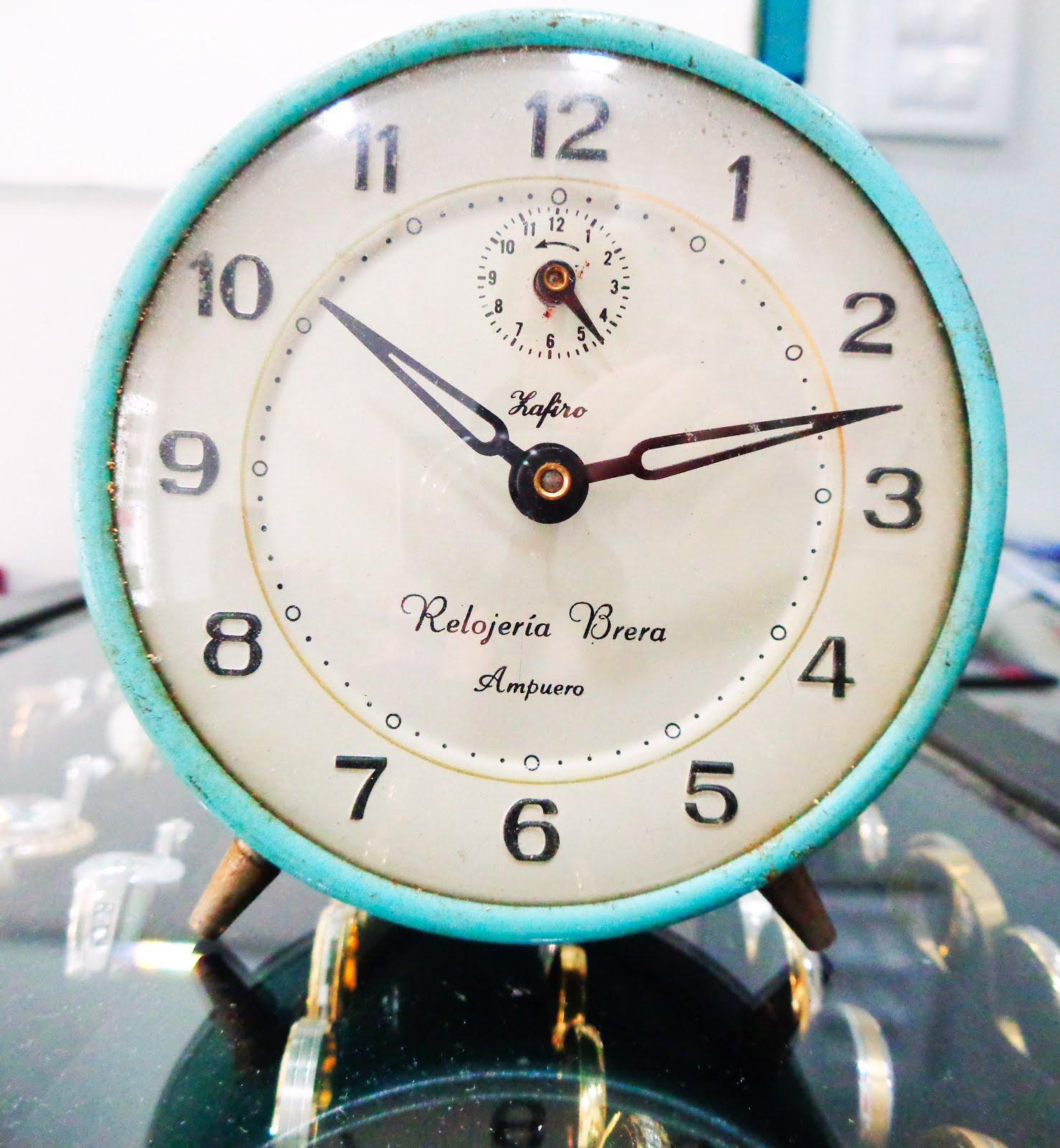 La Relojería Brera abre el 31 por la tarde de 5 a 7