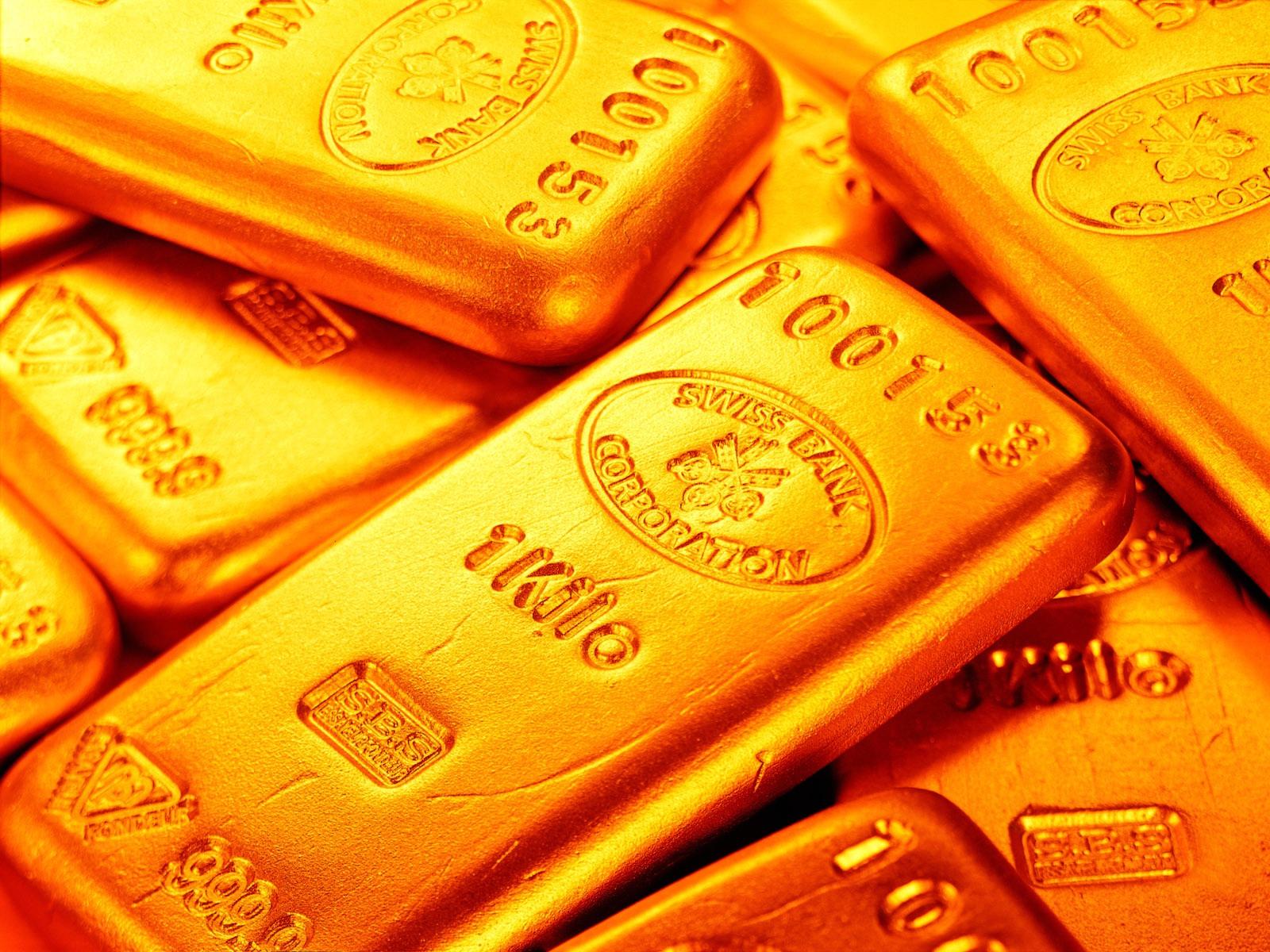 Gold Ingot Golden Wallpaper - Black and White Wallpapers HD