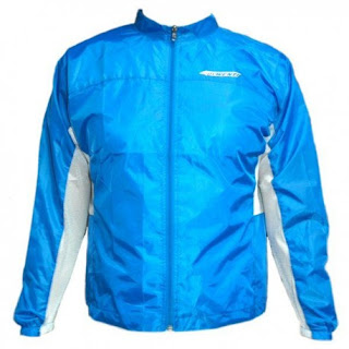 Impermable de ciclismo azul