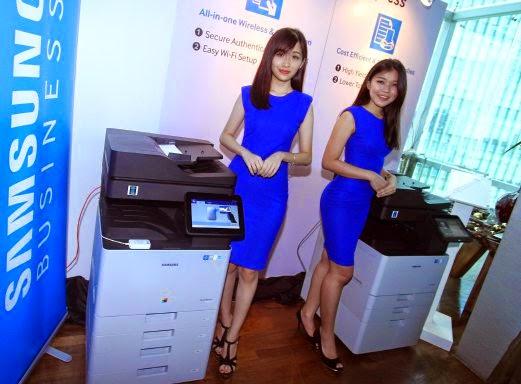 Samsung lancar pencetak berkuasa Android pertama dunia