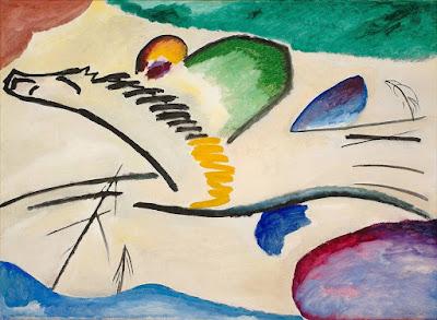 Kandinsky - Le cavalier,1911.