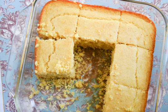 The Best Cornbread Ever.