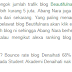 edisi hangat! bounce rate blog beautifulnara 1.89%, memang gila dan tak masuk akal!