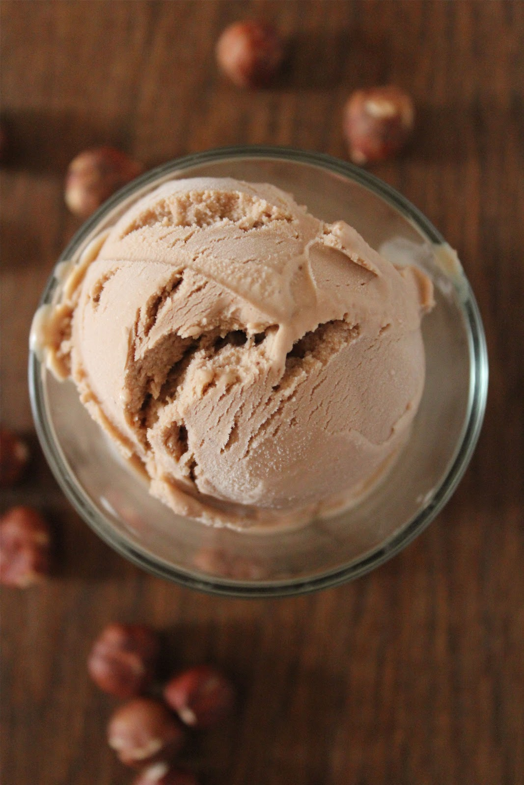 how to make hazelnut icecream