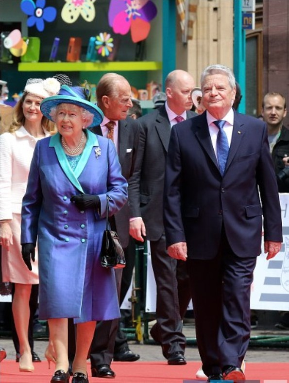British Royal Visit to Germany, Day 3