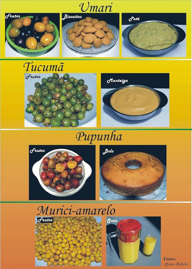Agregando valor aos frutos amazônicos. Preparação Afonso e Das Dores Rabelo.