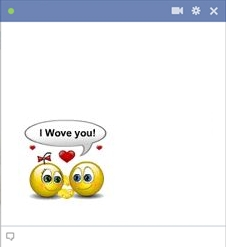 I Wowe You - Talking Smileys