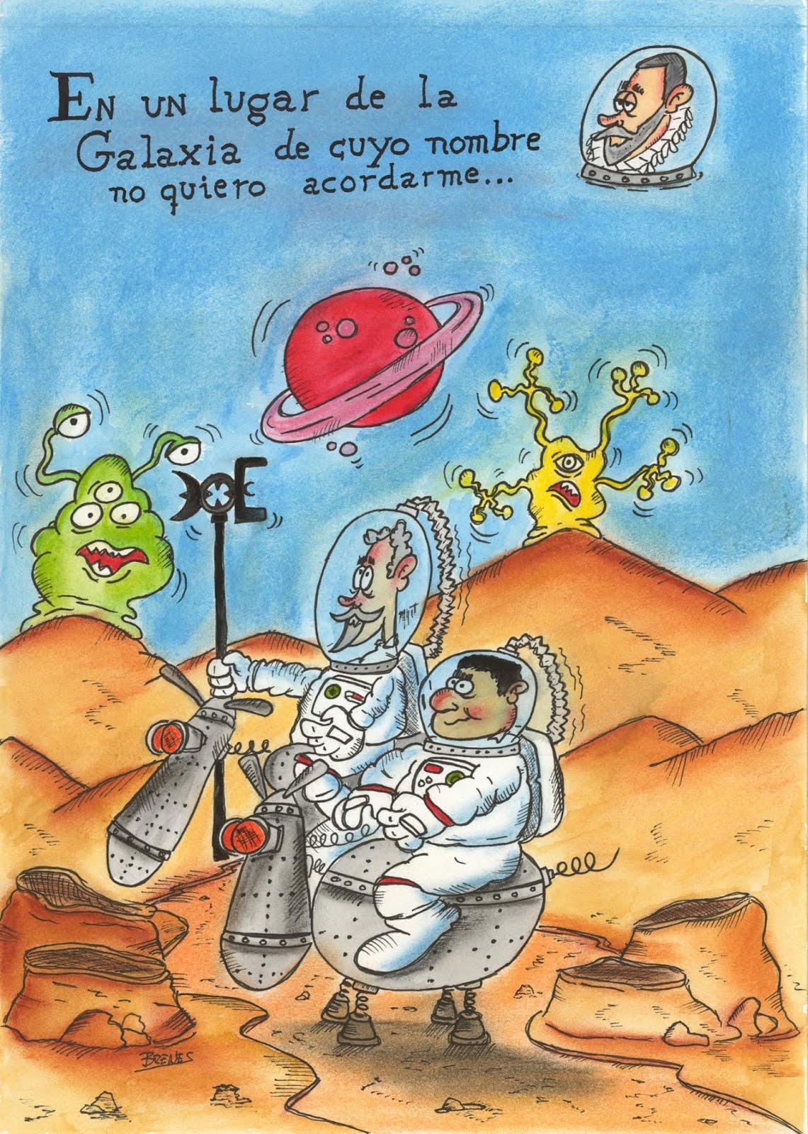 Premio del Ayuntamiento de Beas de Segura, del Concurso de Humor Gráfico Lorenzo Goñi