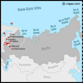 ITINERARIO VIAJE RUSIA