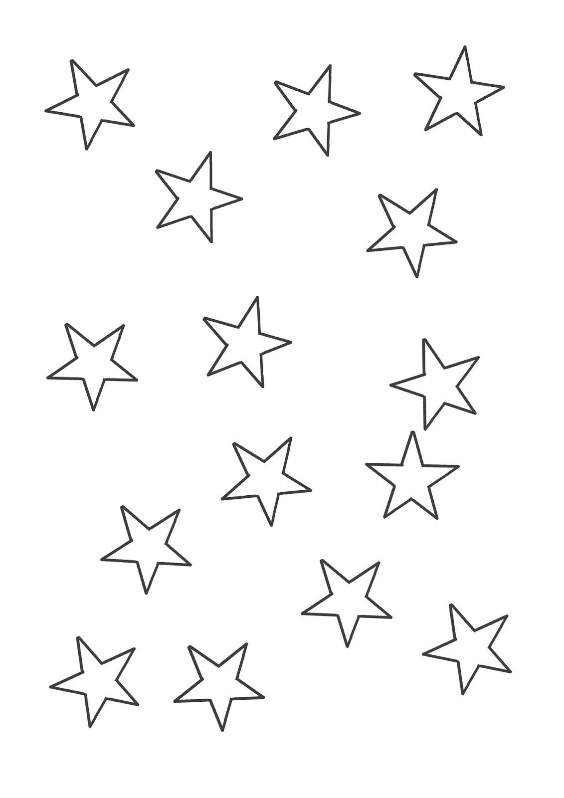 estrelas desenhos desenhos para colorir