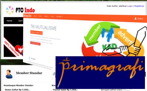 Ilustrasi Top 2 Situs PPC Terbaik Indonesia Versi Primagrafi - Primagrafi