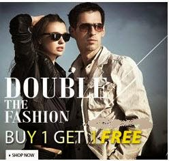 Clothing & Accessories upto 50% off + Buy 1 Get 1 Free + 5% off from Rs. 448