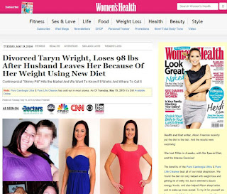 Womens Health Magazine Pure Cambogia Ultra And Pure Life Cleanse Fraud Scam