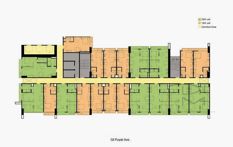 100 West @ Makati City, Philippines Siteplan