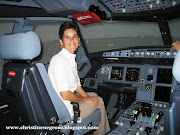 . scary ride to 446 people on the Airbus A380, I was invited to tour the . (airbus christine in sim )