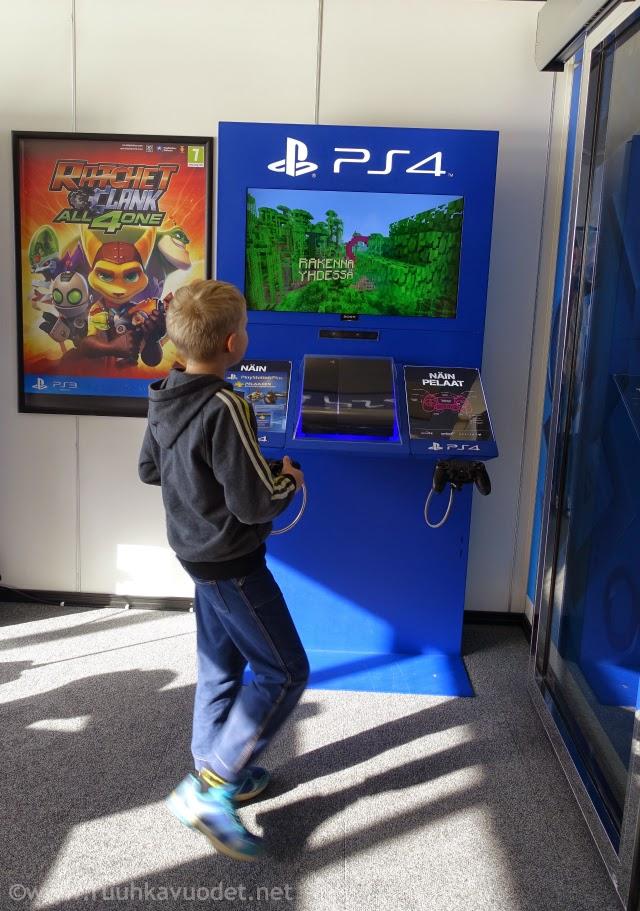 Viking Mariellan PS4 Loungessa voi pelata pleikkaria / Uraäidin Ruuhkavuodet