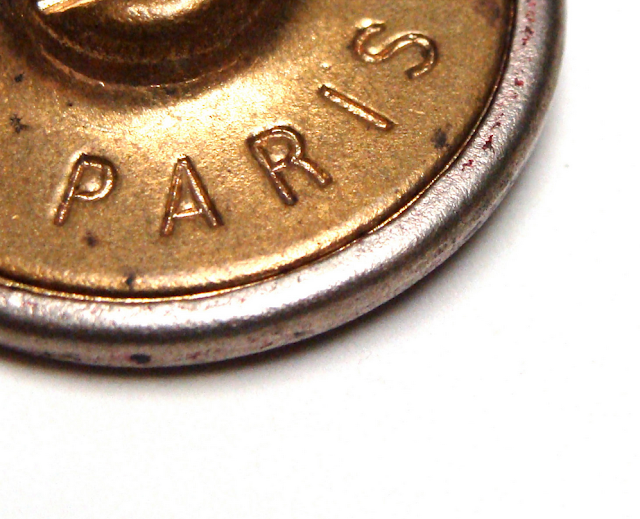 Antique Button Detail #paris #antique