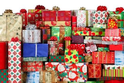 kopa darčekov