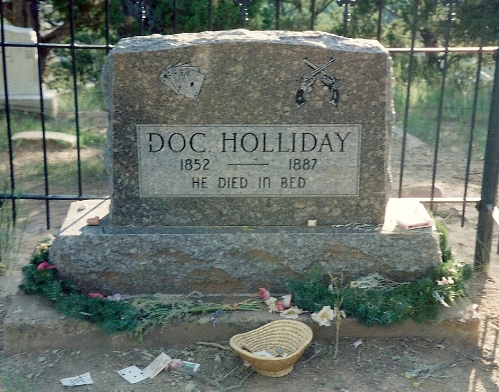 Adventures In Genealogy Tombstone Tuesday Doc Holliday