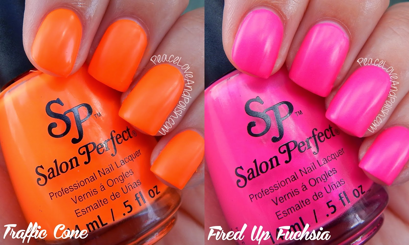 Salon Perfect Neon POP: Swatch & Review | Peace, Love & Polish ...