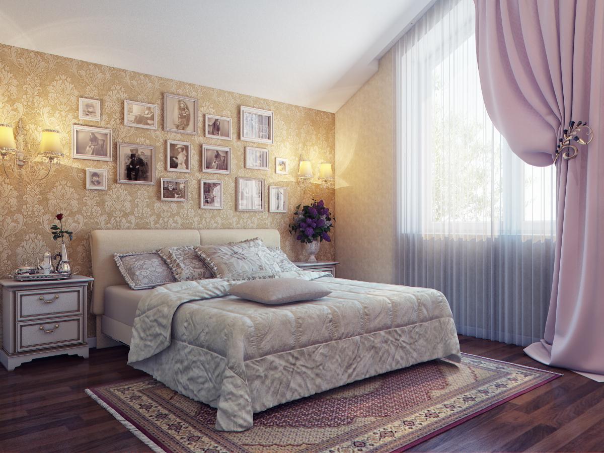 Дизайн женской спальни - обзор хитростей по сочетания +60 фо.