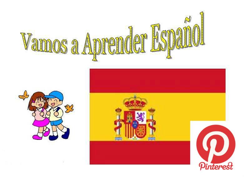 Vamos a Aprender Español (Pinterest)
