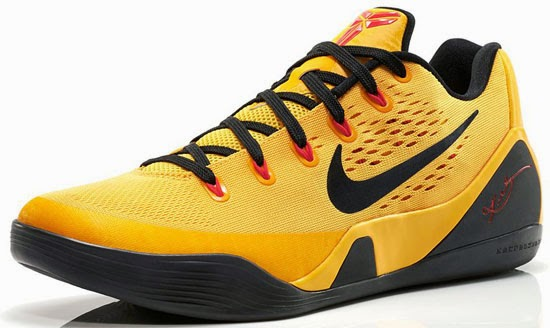 Known as the \u0026quot;Bruce Lee\u0026quot; edition, this Nike Kobe 9 EM is the first low top release set to drop this year. They come in a university gold, black and laser ...