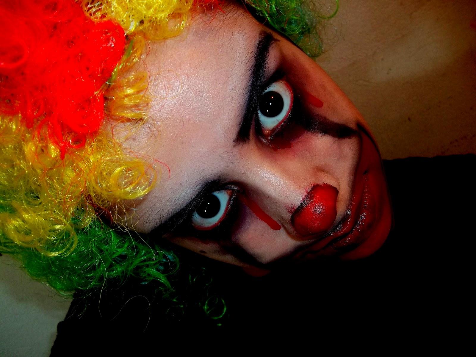 Caras de payaso de Halloween para adultos