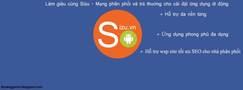 Sizu mạng tải appkiếm tiền trên mobile