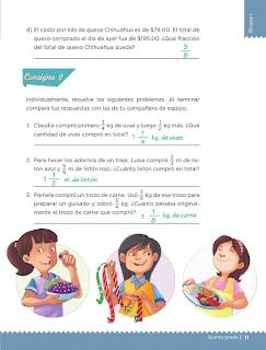 Respuestas Apoyo Primaria Desafíos matemáticos 5to grado Bloque I lección 1 ¿Cuánto es en total?