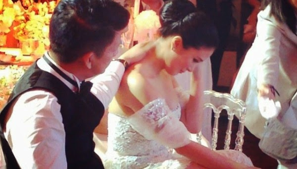 Heart Evangelista's parents, no-show on her wedding day; Sends her a message instead
