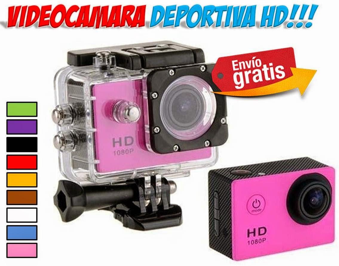 videocamaras deportivas HD