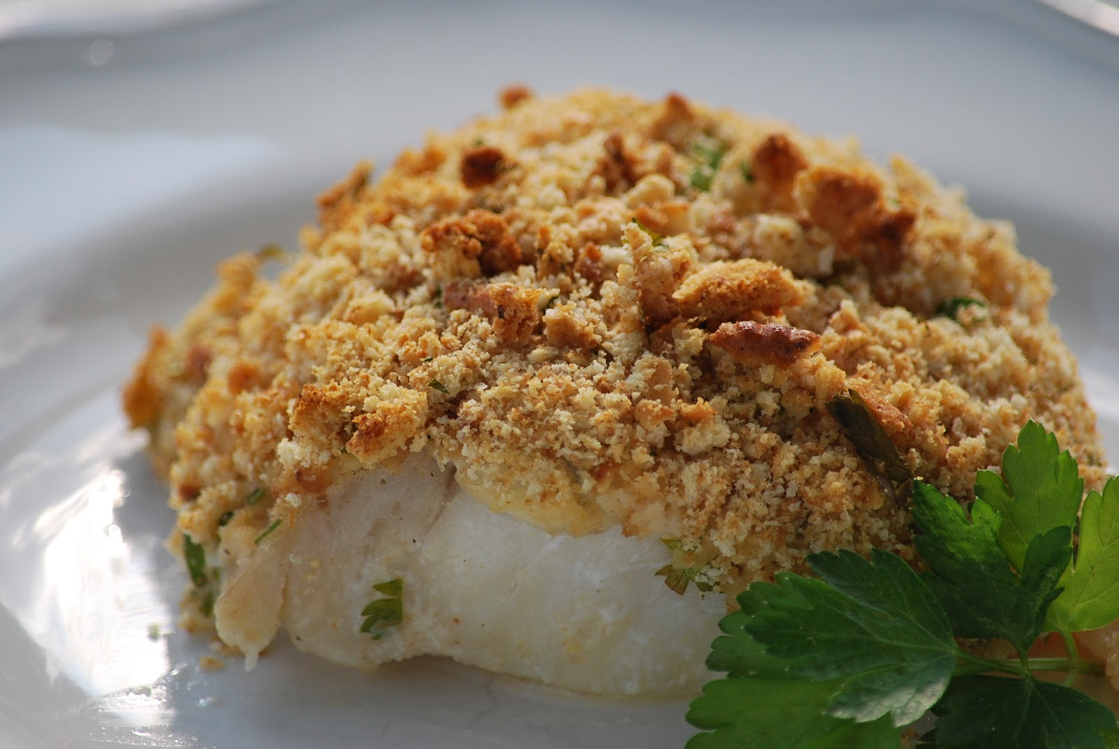 Baked Lemon Herb Cod Recipe — Dishmaps