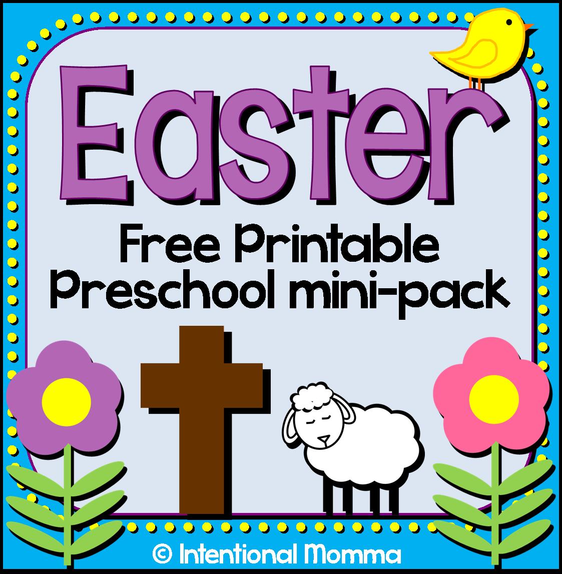 eggs free kindergarten Bible