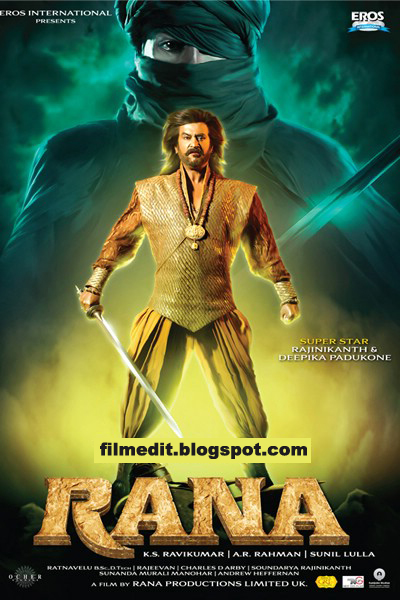 RANA-Rajinikanth-first-look